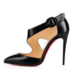 Christian Louboutin black colored sharpeta pumps | Hermosaz