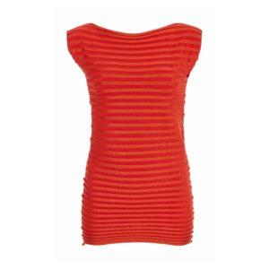 Pepa Pombo Fitted Rib Knit Top | Hermosaz