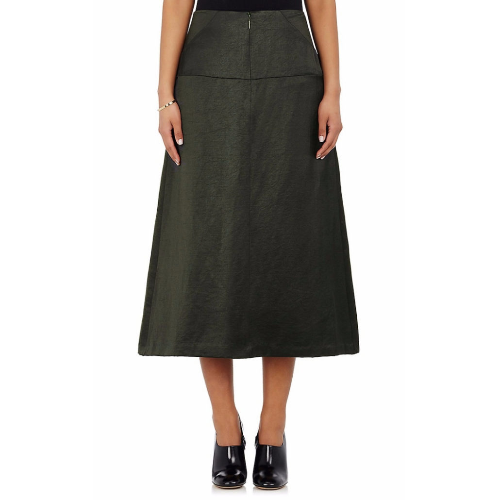 Satin Drop Waist Skirt | Hermosaz