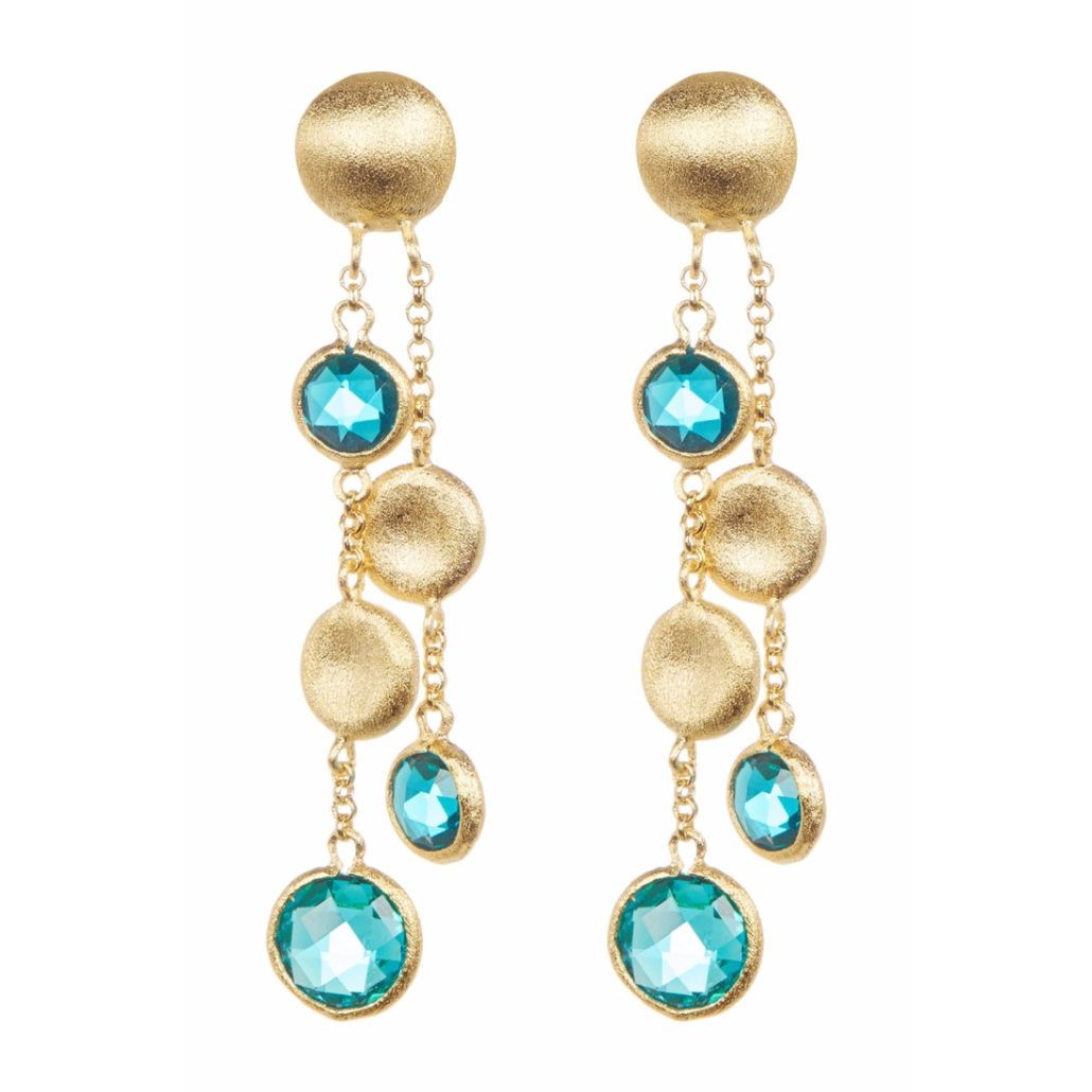18k Gold Clad Earrings   Hermosaz