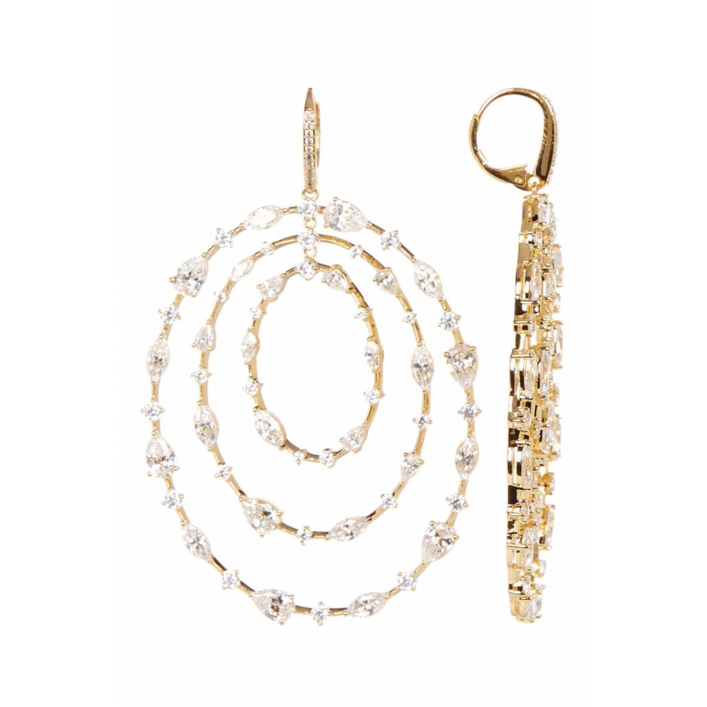 Oval Earrings | Hermosaz
