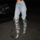 Kendall Jenner Embellished Boots | Hermosaz
