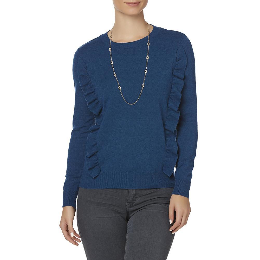 Simply Styled Women's Ruffle Sweater  Hermosaz